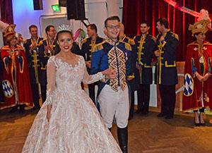 Narrhalla Prinzenpaar beim TanzTeam
